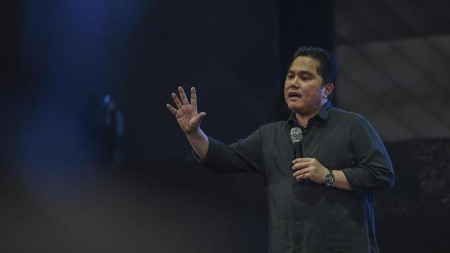 Erick Thohir Rayu Mitshui Bangun RS Berkelas Dunia di Bali