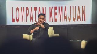 Erick Thohir 'Ogah' Masuk Parpol, Fokus di Jalur Profesional
