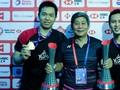 Pelatih Terkejut Ahsan/Hendra Bisa Menang Dua Gim