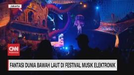 VIDEO: Fantasi Dunia Bawah Laut di Festival DWP