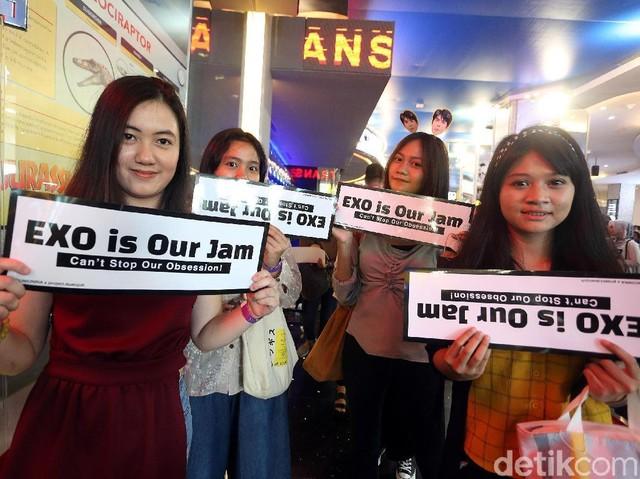 Penggemar EXO Padati TSM Cibubur