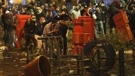 Demo di Libanon Berakhir Rusuh, 35 Orang Luka