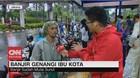VIDEO: Cerita Pemotor Saat Terjebak Banjir Ibu Kota