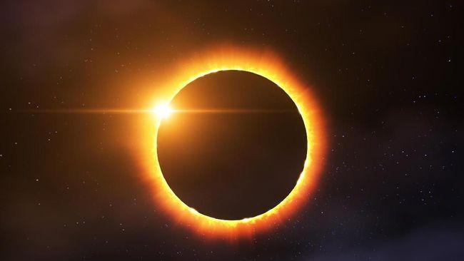 Saksikan fenomena Gerhana Matahari Cincin (GMC) dan Gerhana Matahari Sebagian (GMS) di live streaming CNNIndonesia.com.