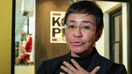 Jurnalis Filipina Seteru Duterte dapat Penghargaan UNESCO