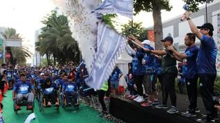 Ribuan Pelari Semarakkan 'BPJAMSOSTEK Relay Marathon'