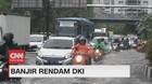 VIDEO: Hujan Deras & Angin Kencang, Jalan Ibu Kota Terendam