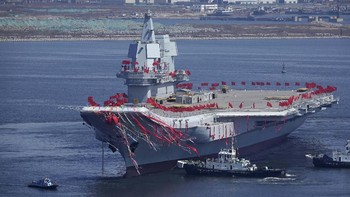 China Latihan Perang usai Kapal Induk AS Masuk LCS