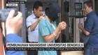 VIDEO: Tersangka Pembunuhan Mahasiswi Bengkulu Ditangkap