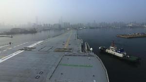 JS Izumo, Kapal Induk Siaga Perang Jepang dan China