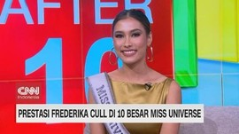 VIDEO: Prestasi Frederika Cull di 10 Besar Miss Universe