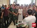 Panglima TNI dan Kapolri Tinjau Gereja Korban Bom Surabaya