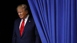 Staf Pesta Wajib Patuhi Aturan Kesehatan, Trump Tak Bermasker