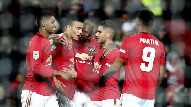 MU dan Man City ke Semifinal Piala Liga Inggris