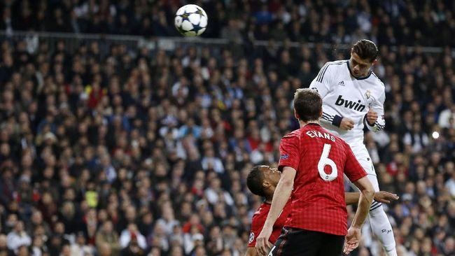 Gol sundulan Cristiano Ronaldo ke gawang Sampdoria bukan rekor lompatan tertinggi sepanjang karier bintang Juventus tersebut.