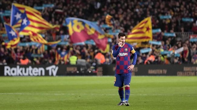 Duel El Clasico Barcelona vs Real Madrid seperti taman bermain yang mengasyikan buat kapten Blaugrana Lionel Messi.