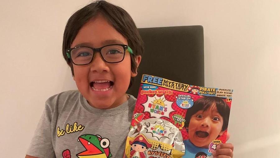 Ryan Kaji, Bocah 8 Tahun Jadi YouTuber Terkaya Berpenghasilan Rp363 Miliar