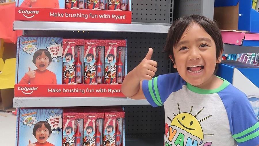 Kisah Ryan Kaji, YouTuber 8 Tahun dengan Penghasilan Selangit