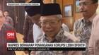VIDEO: Ma'ruf  Amin Berharap Penanganan Korupsi Lebih Efektif