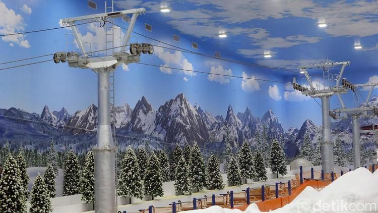 Transpark Mall Bintaro resmi dibuka hari ini, Jumat (20/12). Mall itu juga dilengkapi dengan Trans Snow Wold yang berkelas internasional dan bernuansa Jepang.