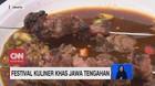 VIDEO: Festival Kuliner Khas Jawa Tengahan