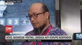 VIDEO - Novel: Penting, Lembaga Anti Korupsi Independen
