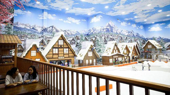 Trans Snow World Bintaro melanjutkan kesuksesan Trans Snow World Bekasi yang lebih dulu dibuka pada pertengahan tahun ini.
