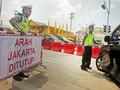 Polisi Sekat Akses Masuk Jakarta saat Tahun Baru