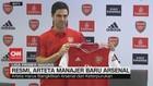 VIDEO: Resmi, Mikel Arteta Manajer Baru Arsenal