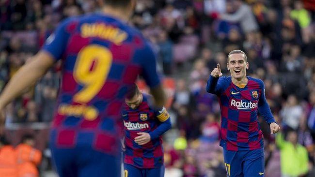 Barcelona meraih trofi perdana pada musim 2020/2021 setelah menang 1-0 atas Elche dalam ajang Joan Gamper Trophy, Minggu (20/9).