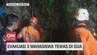 VIDEO: 3 Mahasiswa Tewas di Gua, Evakuasi Berjalan Dramatis