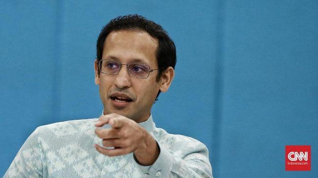 Mendikbud Nadiem Makarim mengatakan kondisi bangunan sekolah di Indonesia mengkhawatirkan dan rawan roboh.