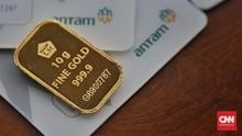 Harga Emas Antam Hari Ini 27 Oktober, Macet di Rp1,007 Juta