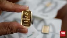 Konflik AS-China Angkat Emas Antam ke Rp920 Ribu per Gram