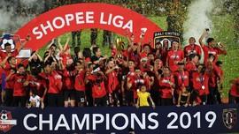 Kontroversi yang Mewarnai Bali United Juara Liga 1 2019
