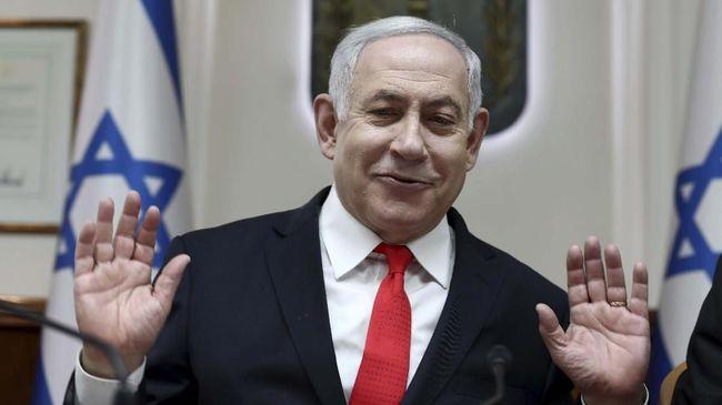 Perdana Menteri Israel Benjamin Netanyahu akan menjalani sidang perdana kasus korupsi pada 17 Maret 2020.