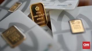 Kisruh AS-China Angkat Emas Antam ke Rp913 Ribu