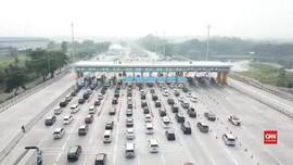 VIDEO: H-3 Natal, 500 Ribu Lebih Kendaraan Tinggalkan Jakarta