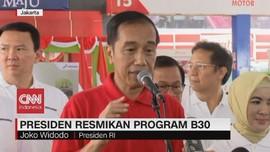 VIDEO: Presiden Resmikan Program B30