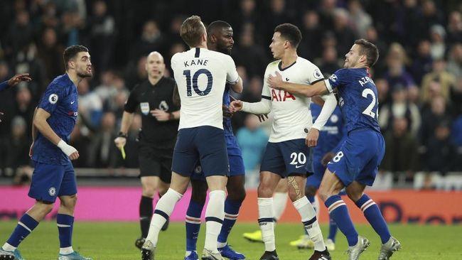 Jadwal Liga Inggris kembali bermain penuh pekan ini sepanjang 22-25 Februari 2020 dengan Chelsea vs Tottenham Hotspur sebagai big match.