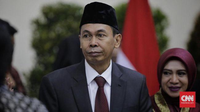 Wakil Ketua KPK Nawawi Pamolango membantah dua dari empat jaksa yang ditarik ke Kejagung punya konflik kepentingan terkait Firli Bahuri.