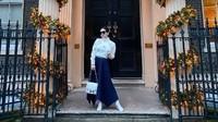 <p>Salah satunya Kota London, Bunda. Setelah November lalu, kini Syahrini dan Reino kembali lagi ke Ibu Kota Inggris tersebut. (Foto: Instagram @princessyahrini)</p>