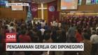 VIDEO: Pengamanan Gereja Kristen Indonesia Diponegoro
