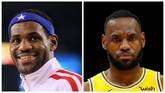 Wajah sembilan atlet terbaik mengalami perubahan yang cukup signifikan dalam satu dekade terakhir mulai 2010 hingga 2019.