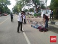 Polisi Reka 10 Adegan Penembakan Mahasiswa Kendari