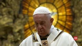 VIDEO: Paus Fransiskus Singgung Cinta Yesus di Malam Natal