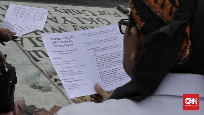 Perwakilan Pengurus GKI Yasmin menuding Walkot Bogor Bima Arya mengingkari janji karena tak kunjung mencabut segel pendirian rumah ibadah mereka.