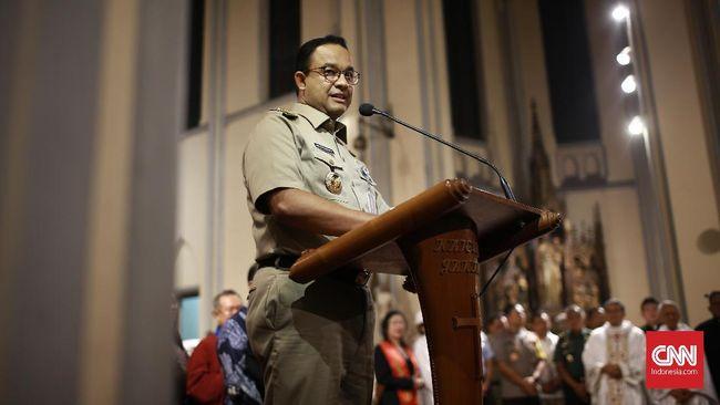 Popularitas Anies diprediksi merosot pada 2022, seiring masa jabatan Anies yang habis sebagai Gubernur DKI Jakarta.