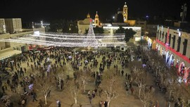 Pandemi, Palestina Bakal Batasi Perayaan Natal di Bethlehem