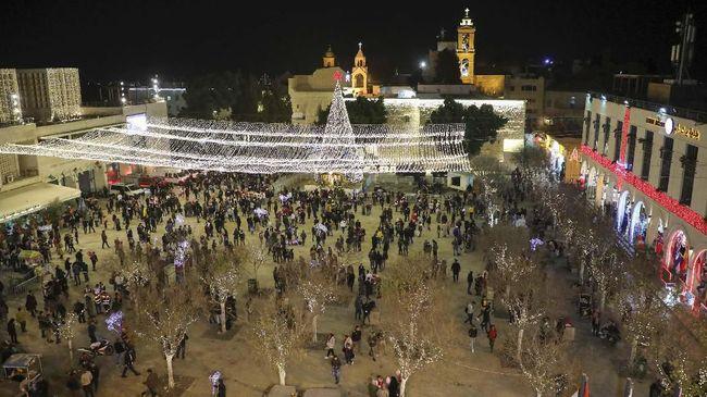 Palestina menganjurkan membatasi peringatan Hari Natal tahun ini di Bethlehem, Tepi Barat, karena khawatir dengan kasus Covid-19.